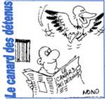 Canard des détenus